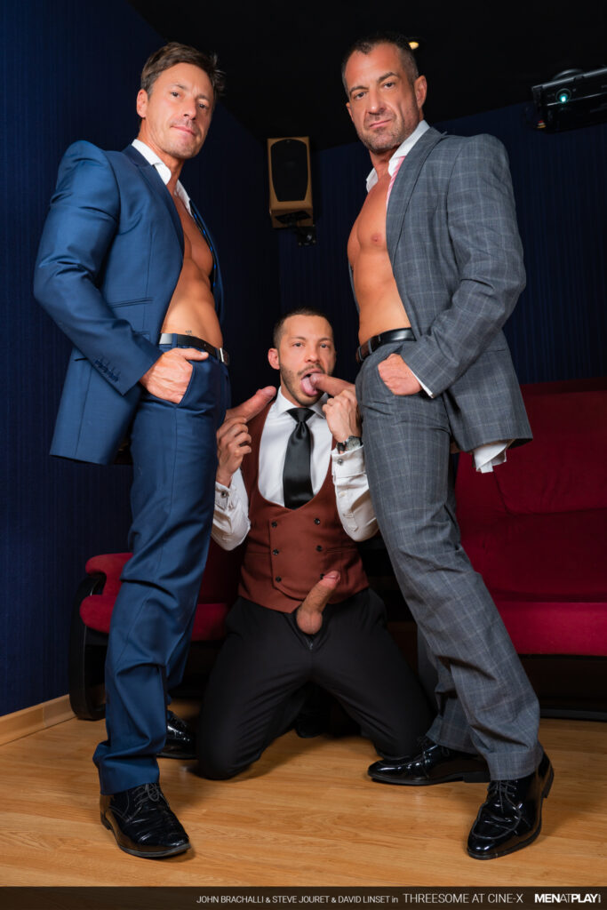 Threesome At Cine-X Cover